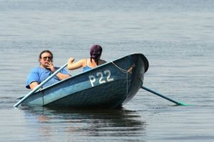 N5 Woman rowing