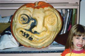 Annie moldy pumpkin abt 1996